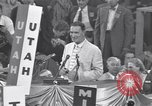 Image of Estes Kefauver speaks at convention Chicago Illinois USA, 1956, second 3 stock footage video 65675037942