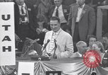 Image of Estes Kefauver speaks at convention Chicago Illinois USA, 1956, second 4 stock footage video 65675037942