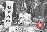 Image of Estes Kefauver speaks at convention Chicago Illinois USA, 1956, second 6 stock footage video 65675037942
