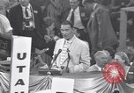 Image of Estes Kefauver speaks at convention Chicago Illinois USA, 1956, second 7 stock footage video 65675037942