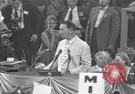 Image of Estes Kefauver speaks at convention Chicago Illinois USA, 1956, second 10 stock footage video 65675037942