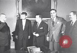Image of John F Kennedy Washington DC USA, 1953, second 1 stock footage video 65675037945