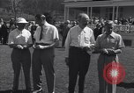 Image of The Duke of Windsor plays golf Washington DC USA, 1956, second 2 stock footage video 65675037952