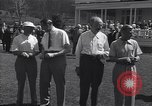 Image of The Duke of Windsor plays golf Washington DC USA, 1956, second 3 stock footage video 65675037952