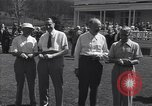 Image of The Duke of Windsor plays golf Washington DC USA, 1956, second 5 stock footage video 65675037952
