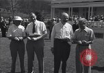Image of The Duke of Windsor plays golf Washington DC USA, 1956, second 7 stock footage video 65675037952