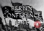 Image of President Truman travels to the Three-Power Peace Conference Berlin Germany, 1945, second 5 stock footage video 65675037972