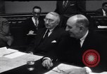 Image of Senate Foreign Relations Committee Washington DC USA, 1953, second 11 stock footage video 65675037989