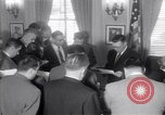 Image of James C Hagerty Washington DC USA, 1953, second 2 stock footage video 65675037994