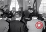 Image of James C Hagerty Washington DC USA, 1953, second 4 stock footage video 65675037994