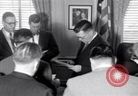 Image of James C Hagerty Washington DC USA, 1953, second 9 stock footage video 65675037994