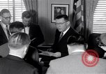 Image of James C Hagerty Washington DC USA, 1953, second 10 stock footage video 65675037994