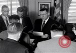 Image of James C Hagerty Washington DC USA, 1953, second 11 stock footage video 65675037994