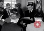 Image of James C Hagerty Washington DC USA, 1953, second 12 stock footage video 65675037994