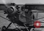 Image of pilot Ethiopia, 1935, second 9 stock footage video 65675038010