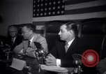 Image of House UnAmerican activities Committee hearing Los Angeles California USA, 1947, second 2 stock footage video 65675038013