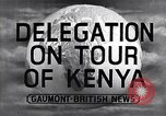 Image of British Delegation visits Mau Mau Kenya, 1955, second 2 stock footage video 65675038018