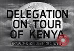 Image of British Delegation visits Mau Mau Kenya, 1955, second 3 stock footage video 65675038018
