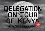 Image of British Delegation visits Mau Mau Kenya, 1955, second 4 stock footage video 65675038018