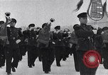 Image of Soviet and American soldiers Moscow Russia Soviet Union, 1945, second 12 stock footage video 65675038019
