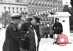 Image of General Van Fleet Athens Greece Syntagma Square, 1948, second 5 stock footage video 65675038021