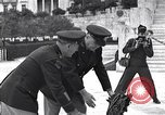 Image of General Van Fleet Athens Greece Syntagma Square, 1948, second 11 stock footage video 65675038021