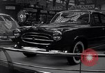 Image of International Auto Show New York City USA, 1956, second 4 stock footage video 65675038024