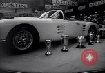 Image of International Auto Show New York City USA, 1956, second 10 stock footage video 65675038024