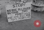 Image of British troops impose martial law Tel Aviv Palestine, 1947, second 2 stock footage video 65675038029