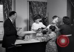 Image of dwarf family and babies Austin Texas USA, 1950, second 12 stock footage video 65675038031