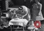 Image of first birthday of Nancy Gayle born to dwarf parents Austin Texas USA, 1950, second 3 stock footage video 65675038032