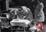 Image of first birthday of Nancy Gayle born to dwarf parents Austin Texas USA, 1950, second 6 stock footage video 65675038032
