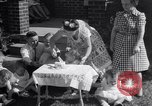 Image of first birthday of Nancy Gayle born to dwarf parents Austin Texas USA, 1950, second 8 stock footage video 65675038032