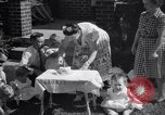 Image of first birthday of Nancy Gayle born to dwarf parents Austin Texas USA, 1950, second 11 stock footage video 65675038032