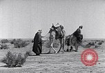 Image of Bedouins Sinai Peninsula, 1945, second 7 stock footage video 65675038045