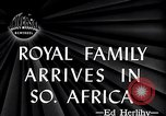 Image of British Royal family Cape Town South Africa, 1947, second 2 stock footage video 65675038051