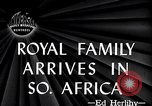 Image of British Royal family Cape Town South Africa, 1947, second 5 stock footage video 65675038051