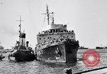 Image of Jewish refugees arrive at Haifa Palestine Palestine, 1947, second 9 stock footage video 65675038056