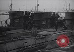 Image of Nazi submarines disposed and scuttled after World War 2 Loch Ryan Scotland, 1945, second 8 stock footage video 65675038066