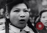 Image of North Vietnamese propaganda meeting Vietnam, 1966, second 1 stock footage video 65675038097
