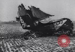 Image of Wreckage of US warplanes shot down by German forces Germany, 1944, second 2 stock footage video 65675038105