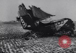 Image of Wreckage of US warplanes shot down by German forces Germany, 1944, second 3 stock footage video 65675038105