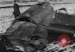 Image of Wreckage of US warplanes shot down by German forces Germany, 1944, second 10 stock footage video 65675038105