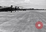 Image of CH-21 helicopters of 121st Aviation Company Soc Trang Vietnam, 1963, second 10 stock footage video 65675038154