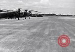 Image of CH-21 helicopters of 121st Aviation Company Soc Trang Vietnam, 1963, second 11 stock footage video 65675038154