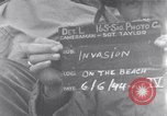 Image of United States 3rd Battalion 16th Regiment troops on D-Day Normandy France, 1944, second 1 stock footage video 65675038166