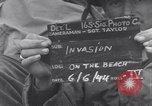 Image of United States 3rd Battalion 16th Regiment troops on D-Day Normandy France, 1944, second 3 stock footage video 65675038166