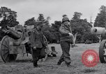 Image of German POW explains artillery to American soldier France, 1944, second 2 stock footage video 65675038185