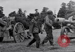 Image of German POW explains artillery to American soldier France, 1944, second 3 stock footage video 65675038185