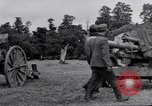 Image of German POW explains artillery to American soldier France, 1944, second 4 stock footage video 65675038185